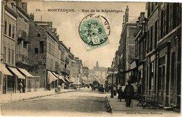 CPA MONTLUCON - Rue De La République (225191) - Montlucon