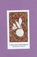 L' ARTISAN PARFUMEUR  **Mandarina Corsica** - Cartes Parfumées