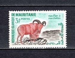 MAURITANIE N° 143 NEUF SANS CHARNIERE COTE 0.80€  MOUFLON  ANIMAUX - Mauritanië (1960-...)