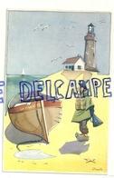 Humour: Souvenir Du Littoral. Signée Maezelle. Edition D'Artiste - Humour