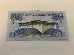 Bhutan 1 Ngultrum Uncirculated Banknote - Bhutan