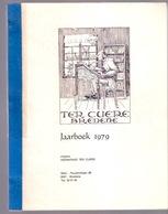 Jaarboek 1979 TER CUERE BREDENE & Oostende TREIN-SPOOR-BRUGGE-OOSTENDE GERECHT FOTO'S VISSERIJ OOSTENDSE REVUE Z797G - Bredene