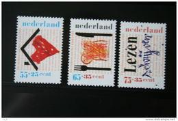 Kinderzegels, Child Welfare Kinder Enfant NVPH 1435-1437 (Mi 1371-1373); 1989 POSTFRIS / MNH ** NEDERLAND / NIEDERLANDE - 1980-... (Beatrix)