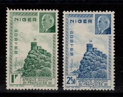 Niger - YV 93 & 94 N* Petain Cote 2,20 Euros - Niger (1921-1944)