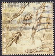 2019 Leonardo Da Vinci Sketchwork - Anatomy Of Shoulder And Foot 1st SG4174 - 1952-.... (Elizabeth II)