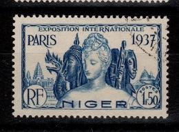 Niger - YV 62 Oblitere, Exposition Internationale De Paris - Niger (1921-1944)