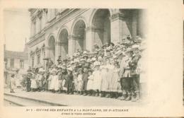 Oeuvre Des Enfants à La Montagne, De St-Etienne - Avant La Visite Médicale - Saint Etienne