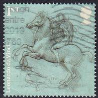 2019 Leonardo Da Vinci Sketchwork - Design For Equestrian Monument 1st SG4180 - 1952-.... (Elizabeth II)
