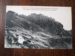 L23/317 PAPOUASIE NOUVELLE GUINEE - Le Plus Haut Sommet Du Mont Albert Edouard - Papua Nuova Guinea