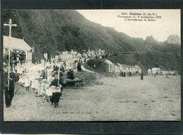 CPA - ETABLES - Procession Du 8 Septembre 1918 - L'Arrivée Sur La Grève, Très Animé - Etables-sur-Mer