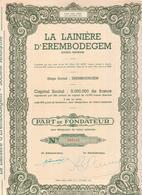 LA LAINIERE D'EREMBODEGEM - Textile