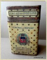 Ancienne Boite En Carton CACAO DE ROYAT - A. ROUZAUD - Boîtes