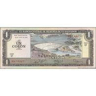 TWN - EL SALVADOR 125b3 - 1 Colon 19.6.1980 (10.12.1980) QT 9574327 AVF - Salvador