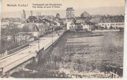 Mersch (Luxbg) Totalansicht Mit Eischbrücke - Vue Totale Et Pont D' Eisch - Kunstverlag Max Löwenthal, Frankfurt - Cartes Postales
