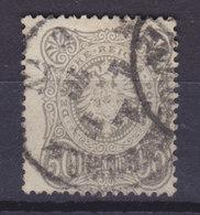 Germany Deutsches Reich 1875/79 Mi. 36b     50 Pf(e). Reichsadler Im Oval (Schwarzgrau) Cote €420,- - Deutschland