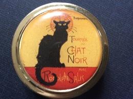 BOITE À PILULES TOURNEE DU CHAT NOIR  Montmartre  RODOLPHE SALIS  Pill Box - Scatole