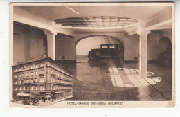 Hongrie - Budapest - Hôtel-garage Britannia - Hongrie