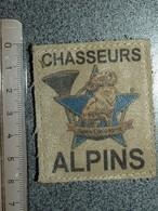 ECUSSON CHASSEURS  ALPINS - Blazoenen (textiel)
