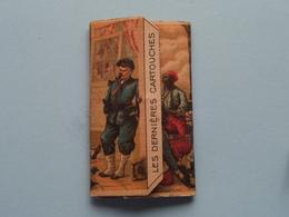 LES DERNIERES CARTOUCHES ( BRAUNSTEIN Frères PARIS ) Papier Cigarette Paper ( Zie / Voir Photo Svp ) Plein ! - Autres