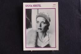 Sp-Actrice,néerlandaise, Sylvia Kristel, Née En 1952 à Utrecht, Morte En 2012 à Amsterdam . - Acteurs