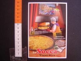 CP Carte Postale Postcard ANCIENNE AFFICHE VILLES Clouet LA SOCCA VIEUX NICE - Other