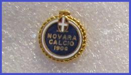 A.C. Novara Calcio Distintivi FootBall Soccer Spilla Pins Novi Piemonte Italy - Calcio