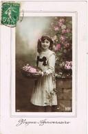 33667. Postal Romantica Vintage VERT LE PETIT (Seine Et Oise) 1913 - Francia