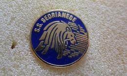 S.S. Sedrianese Calcio Distintivi FootBall Soccer Spilla Pins Sedriano Milano Lombardia - Calcio