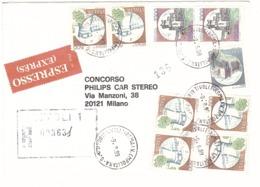 ESPRESSO ANNULLO TIVOLI 1 MA V. EMPOLITANA - 1946-.. République