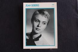 Sp-Actrice, Française, 1960 - Jean Dorothy Seberg,  Née En 1938 à Marshalltown Dans L'Iowa Et Morte En 1979 à Paris. - Acteurs
