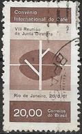 BRAZIL 1961 Int Coffee Convention, Rio De Janeiro - 20cr Coffee Plant FU - Brasilien