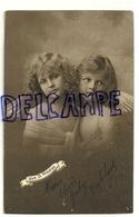Photographie. Deux Petites Anges. 1913 - Anges