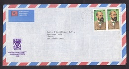 South Africa: Airmail Cover To Netherlands, 1983, 2 Stamps, Robert Koch, Science, Tuberculosis TB, Health (minor Damage) - Zuid-Afrika (1961-...)