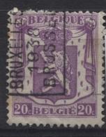 PREOS Roulette - BRUXELLES 1938 (position A). Cat. 6056 Cote 150. - Roller Precancels 1930-..