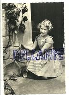 """Princesse Anne D'Angleterre Et Le Corgi """"Sugar"""" à Westminster. Glacée - Familles Royales"""