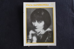 Sp-Actrice, Française, D'origine Polonaise,  1915 - Stacia Napierkowska Née En 1891 à Paris, Morte En 1945 à Paris. - Acteurs
