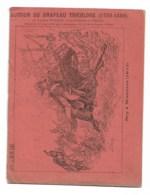 """Cahier Complet: Illustration """"Ney à Waterloo (1815)""""   Tb état - Buvards, Protège-cahiers Illustrés"""