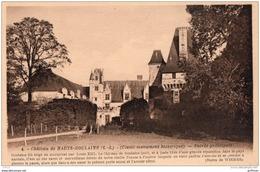 CHATEAU DE HAUTE GOULAINE ENTREE PRINCIPALE TBE - France
