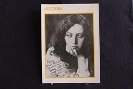 Sp-Actrice, Française, 1915 - Jeanne Roques, Dite Musidora, Née En 1889 à Paris, Morte En 1957 à Paris. - Acteurs