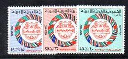 APR2286 - LIBIA LYBIA 1977 , Serie Yvert  N. 625/627  ***  MNH  Upu - Libia