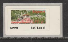 Singapore ATM , Swans, Bird, Birds, First Local Standard Postage, MNH** - Schwäne