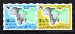 APR2287 - LIBIA LYBIA 1977 , Serie Yvert  N. 628/629  ***  MNH  Oua - Libia