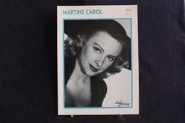 Sp-Actrice, Française,1960 - Martine Carol,née En 1920 à Saint-Mandé (Val-de-Marne),morte En 1967à Monte-Carlo (Monaco) - Acteurs