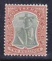 Montserrat 1903   Re  Edward VII  Gibbons N° 21 MLH * - Montserrat