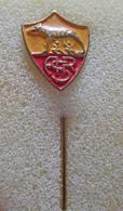 AS Roma Lupa Calcio Roma Calcio Distintivi FootBall Soccer Pins Spilla - Calcio