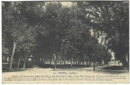 58 - Nevers - Le Parc Avec Son Historique - Nevers
