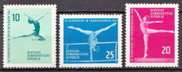 Germany DDR MNH Set - Gymnastics