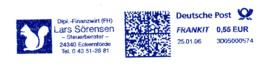 Freistempel 3081 Eichhörnchen - BRD