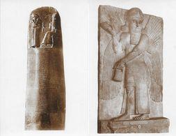 Louvre - Antiquités Asiatiques: Guerriers Assyriens, Tête Chaldéenne, Dieu, Lois Du Roi.. - Lot De 9 Cartes Non Circulée - Antiek