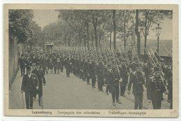 Luxembourg Compagnie Des Volontaires Freiwilligen-Kompagnie Um 1910 - Sonstige
